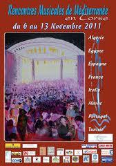 Les rencontres musicales de mediterranée- Bastia 2009-2010-2011