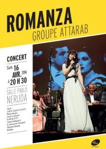 Romanza, Le retour, prochain spectacle ATTARAB le 16 avril 2016 à Bobigny